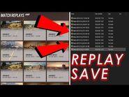 How To Save Rainbow Six Siege Match Replay (CrimsonHeist)