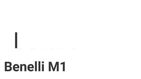 Rainbow Six- Benelli M1