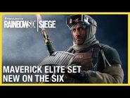 Rainbow Six Siege- Maverick Elite Set - New on the Six - Ubisoft -NA-