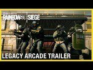 Rainbow Six Siege- Legacy Arcade Event Trailer - Ubisoft -NA-