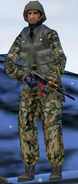 Russian Soldier 1 Majestic Gold