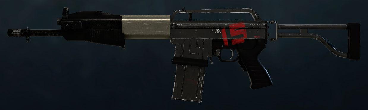 SPAS-15/Siege
