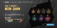 Neon Dawn Charms