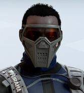 Wamai Red Vision Facepiece Headgear