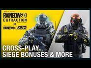 Rainbow Six Extraction- Cross-Play, Siege Bonuses & More - Ubisoft -NA--2