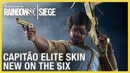 Rainbow Six Siege Capitão Elite Set - New on the Six Ubisoft NA