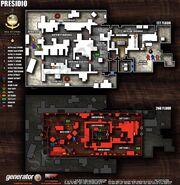 Presidio Vegas 2 Map Layout