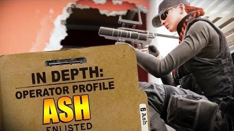 Rainbow Six Siege - Operator Profile ASH-0
