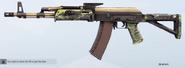 Snakeskin AK74M Skin
