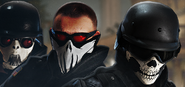 100.Thermite, Pulse and Castle in the Skull Headgear Bundle