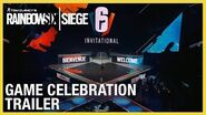 Rainbow Six Siege Game Celebration Trailer - Six Invitational 2020 Ubisoft NA