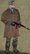 Russian Army Sergeant