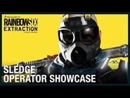 Rainbow Six Extraction- Sledge - Operator Showcase - Ubisoft -NA-