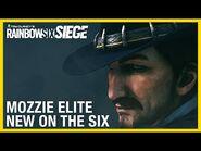 Rainbow Six Siege- Mozzie Elite Set - New on the Six - Ubisoft -NA-
