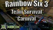 "Rainbow Six 3 Team Survival on ""Carnival"" Original Xbox Game Night"