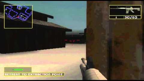 Rainbow Six- Lone Wolf PS1 Gameplay Mission 2 - Operation Silent Shelter