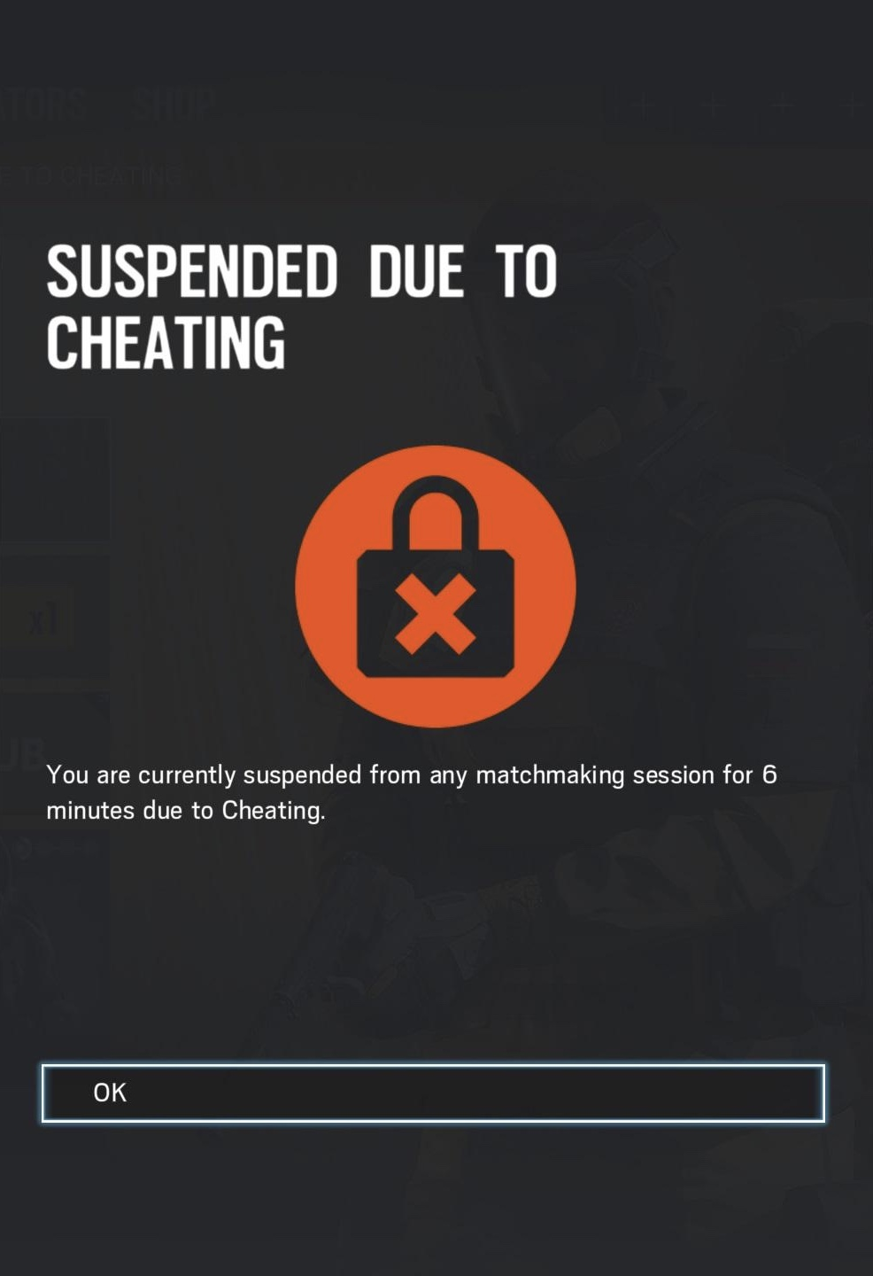 Matchmaking Penalty
