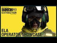 Rainbow Six Extraction- Ela - Operator Showcase - Ubisoft -NA-