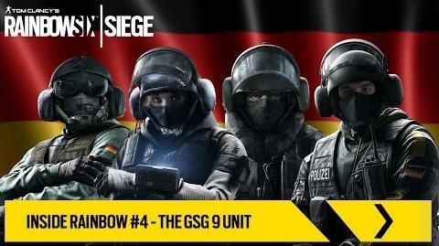 Tom Clancy's Rainbow Six Siege Official - Inside Rainbow 4 – The GSG 9 Unit EUROPE