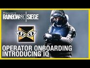 Rainbow Six Siege- Operator Onboarding - Introducing IQ - Ubisoft -NA-