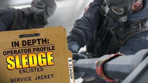 Rainbow Six Siege - Operator Profile SLEDGE-0