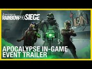 Rainbow Six Siege- Apocalypse Event - Trailer - Ubisoft -NA-