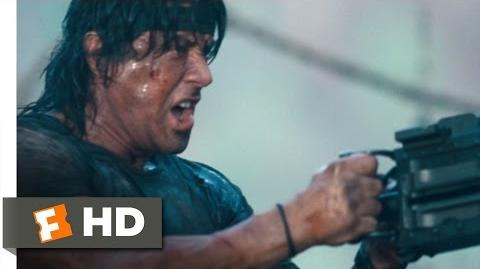 Rambo (11 12) Movie CLIP - Mopping Up (2008) HD