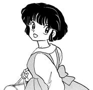 Akane in divisa