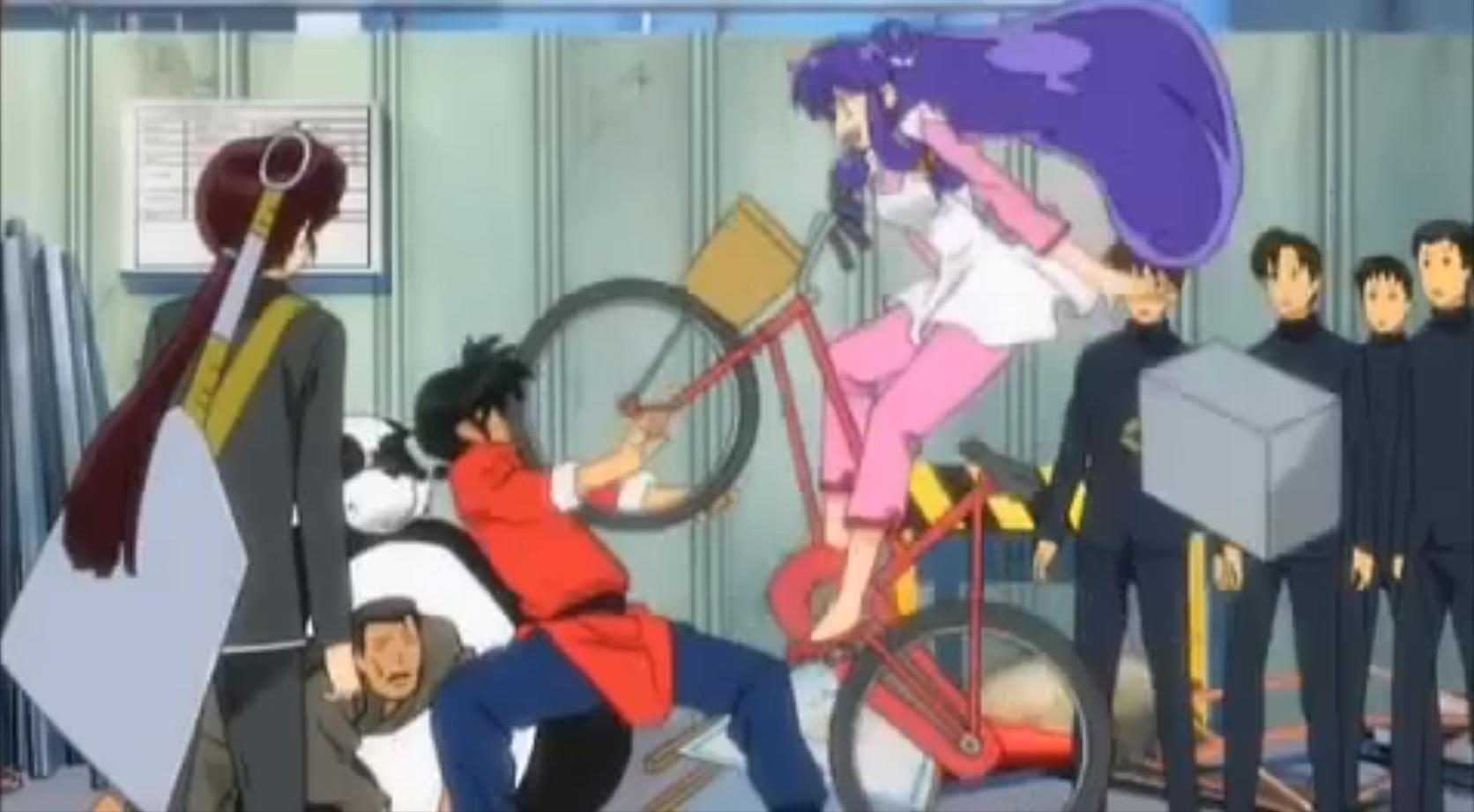 Shampoo's bike