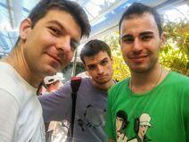 Viktor, Zarcort y Aitor