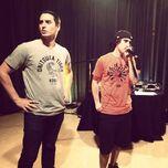Porta con Eddie Mv en concierto VIP de Algo ha cambiado (11-06-2014)