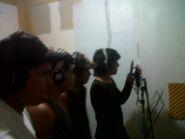 Omega Santana Con Troy Pacheko y Noize en Img Musica