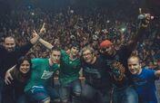 Porta con DJ Simao, Eddie MV, Soma y Chus en la gira del 2014 Monterrey México