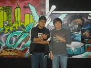 Omega Santana Con Frank V en Otoño Cero