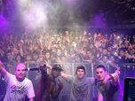 Porta con DJ Simao, Eddie MV y Chus en la gira del 2014
