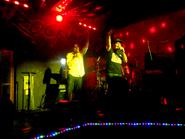 Omega Santana y Noize evento Otoño Cero