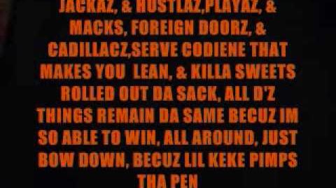 Lil Keke & DJ Screw PIMP THE PEN