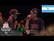 KODIGO vs TATA - Cuartos- Final Nacional Argentina 2015 - Red Bull Batalla de los Gallos