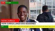 Yefri Zuñiga, Lanzo dos sessiones de freestyle Flow Pegao y Loco Fresh.jpg