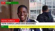 Yefri Zuñiga, Lanzo dos sessiones de freestyle Flow Pegao y Loco Fresh