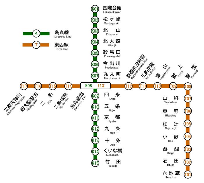 Kyoto Municipal Subway Map.png