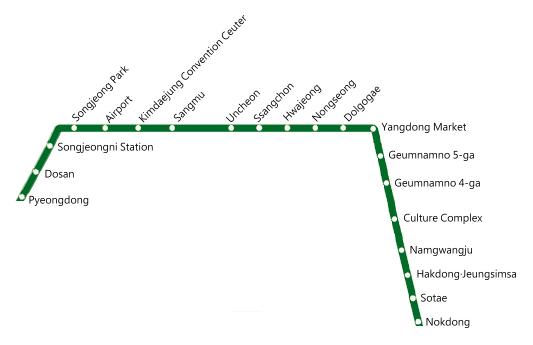 Gwangju Metropolitan Transit Map.png