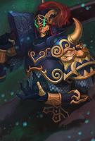 Death Tyrant Evo 1 art card