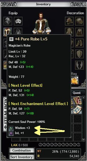 Sockets for soul stones in armor