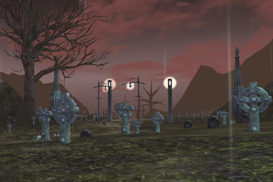 Mourning Graveyard