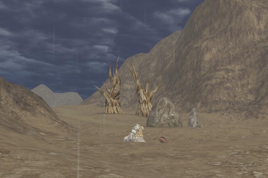 Near Relics of Arid Moonlight