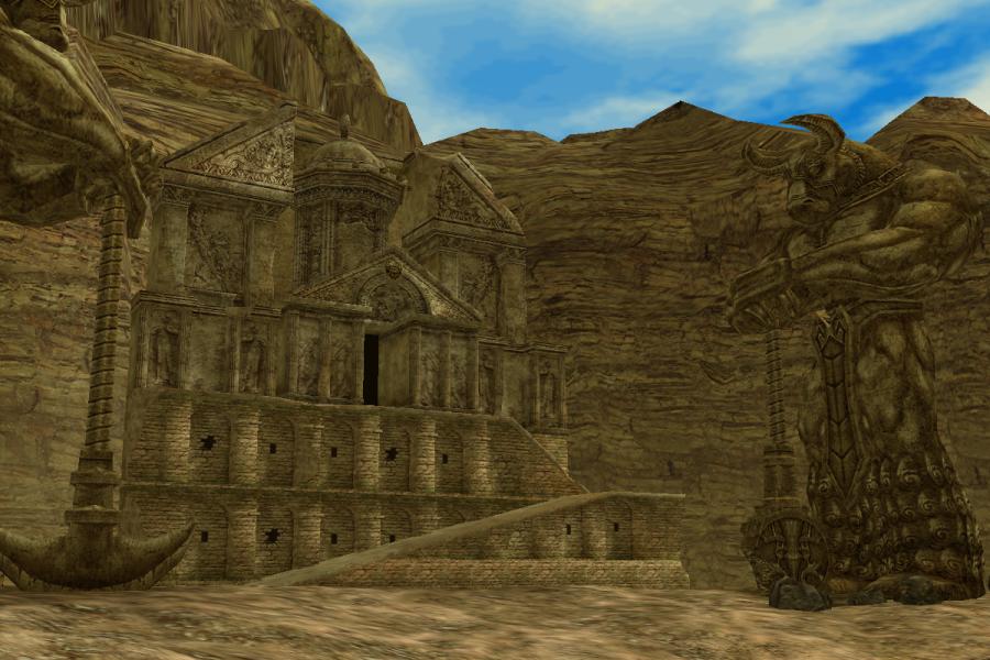 The Shrine of Palmir Plateau Entrance 2