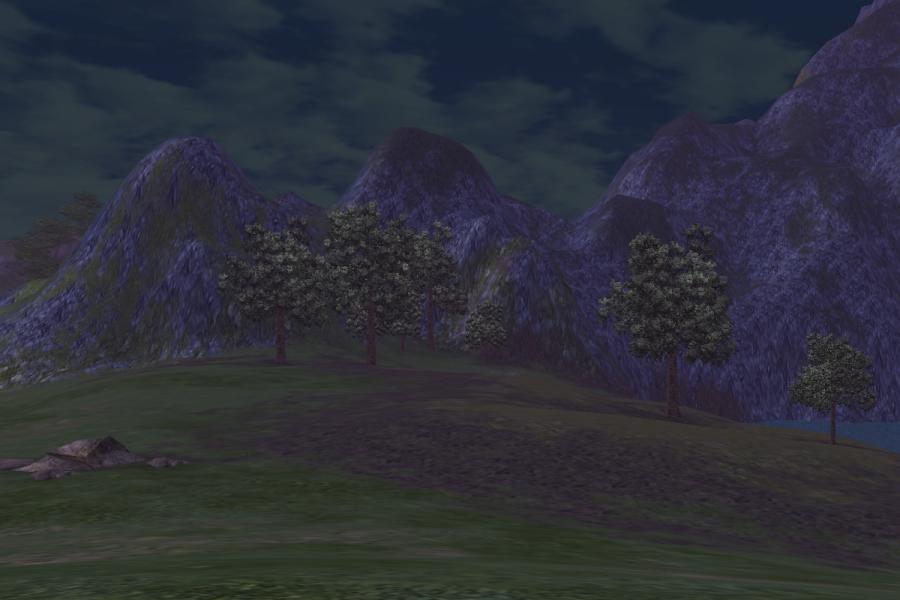 Field of Green Reeds