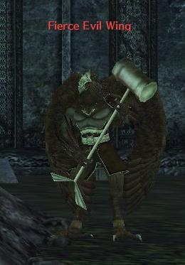 Fierce Evil Wing