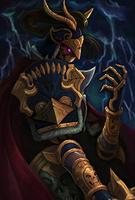 Death Tyrant Evo 2 art card